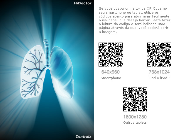 Wallpaper especialidades: Pneumologia