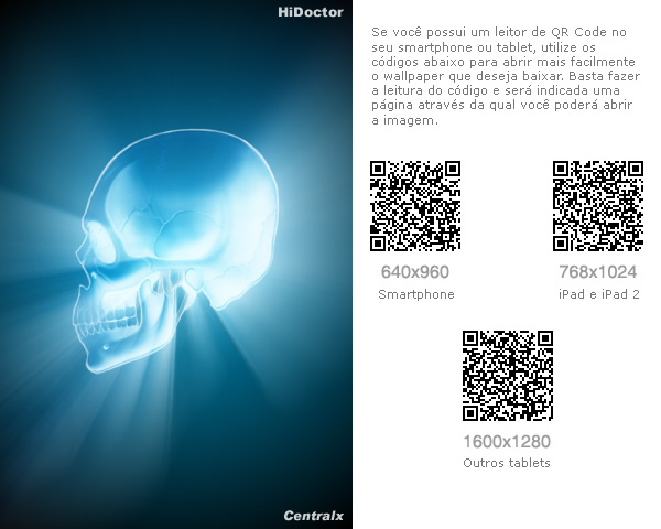 Wallpaper especialidades: Radiologia